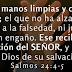 Salmos 24: 4-5