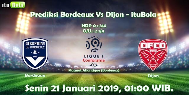 Prediksi Bordeaux Vs Dijon - ituBola