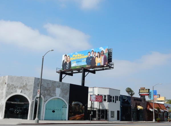 Parks Recreation 2015 Emmy billboard