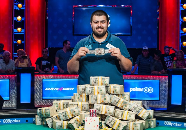 #TopStory :Scott Blumstein ,25 years old, won the World Series of Poker with $8.1 million as prize