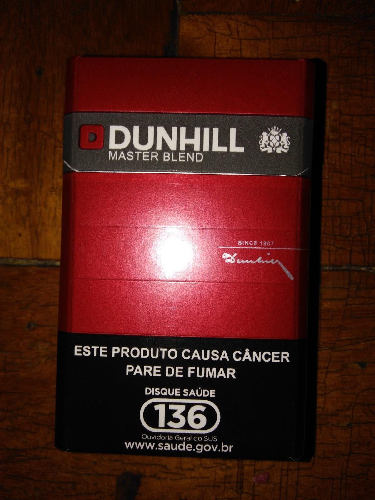Super Retiraram o Dunhill Master Blend do mercado! ~ Diário do Tabaco XF57