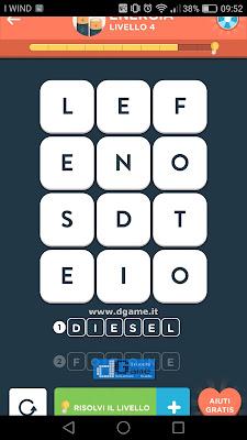 WordBrain 2 soluzioni: Categoria Energia (3X4) Livello 4