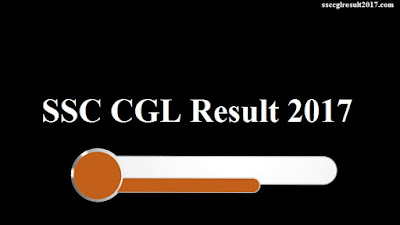 SSC CGL Result 2017