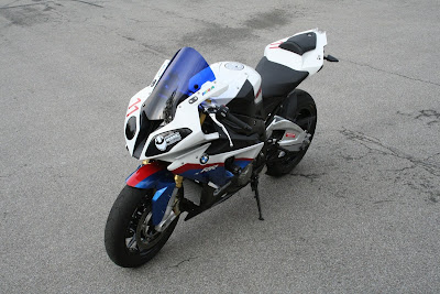 BMW S1000RR top side look