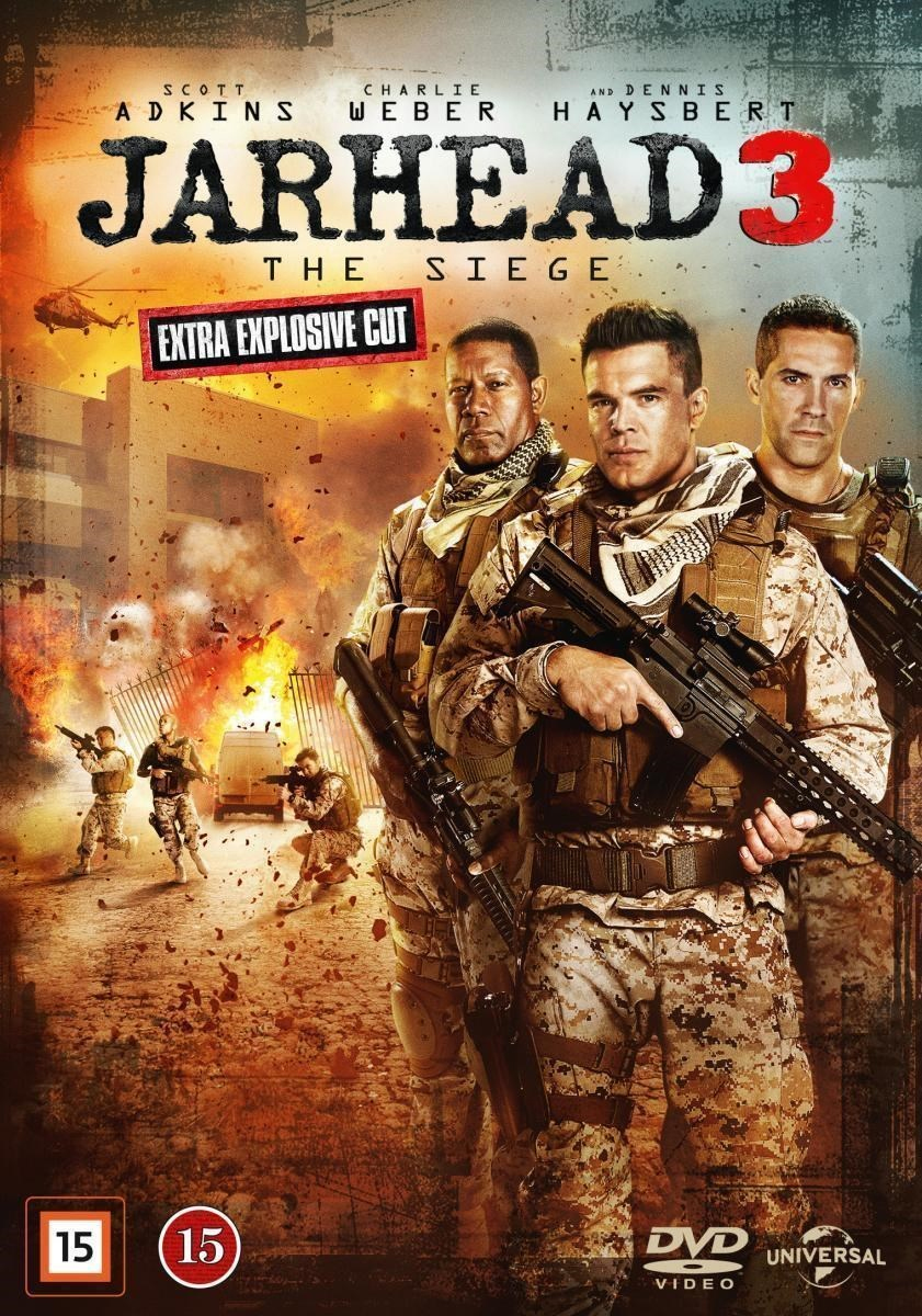 [MASTER แท้มาแล้ว] JARHEAD 3: THE SIEGE (2016) จาร์เฮด 3: พลระห่ำสงครามนรก 3 [1080P HQ] [เสียงไทยมาสเตอร์ DTS + อังกฤษ DTS]