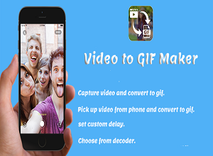 Video to GIF Maker + Android Studio Project + Admob Ads-free download