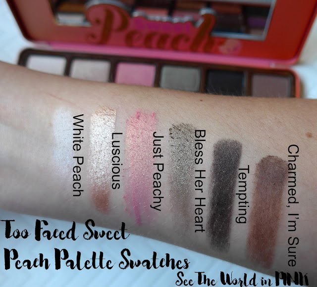 Too Faced Sweet Peach Palette Review, Swatches and Makeup Looks