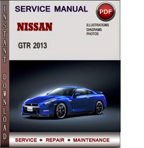 Nissan gtr 2013 service manual