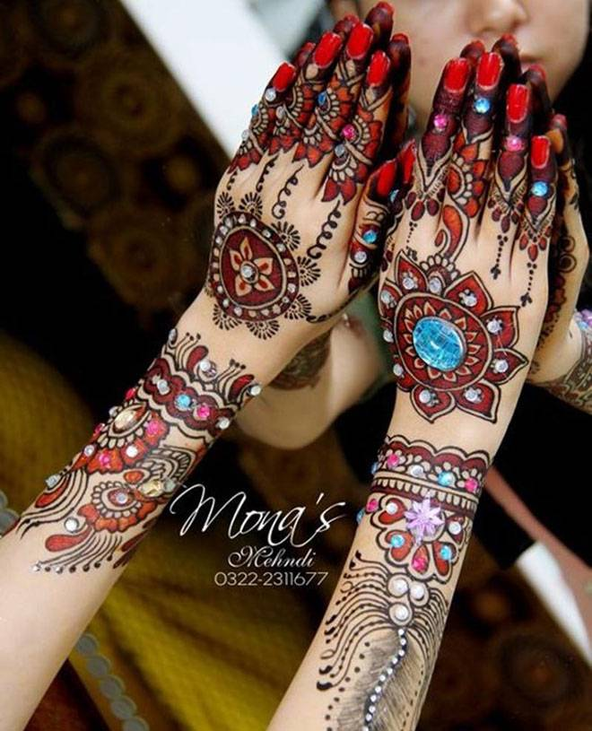 Mehndi Party Checklist : Latest mehndi henna designs t ajewelrystyle