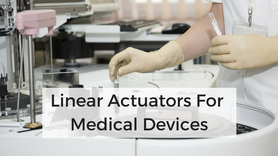 medical linear actuators