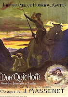Poster for the first Paris Don Quichotte in 1910