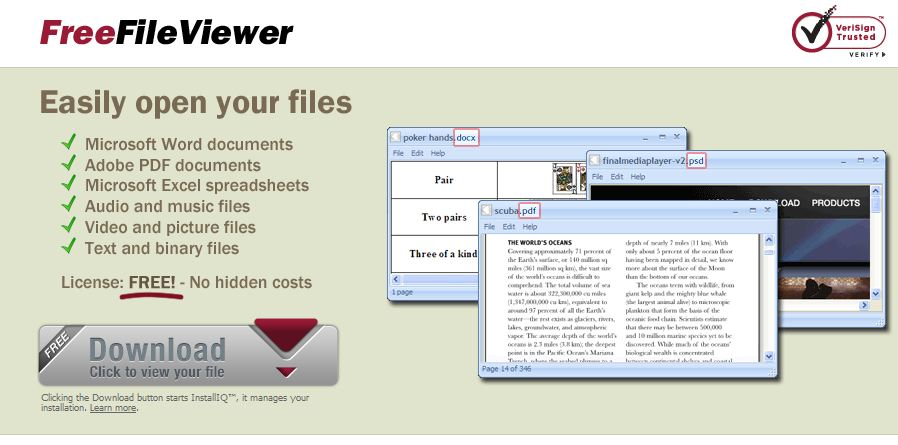 Where do you want IT to go?: FreeFileViewer