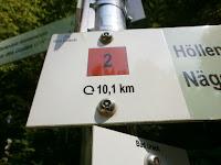 Bad Urachs Rundwanderweg Nr. 2 (Zum Buckleter Kapf), Teil 1 von 2
