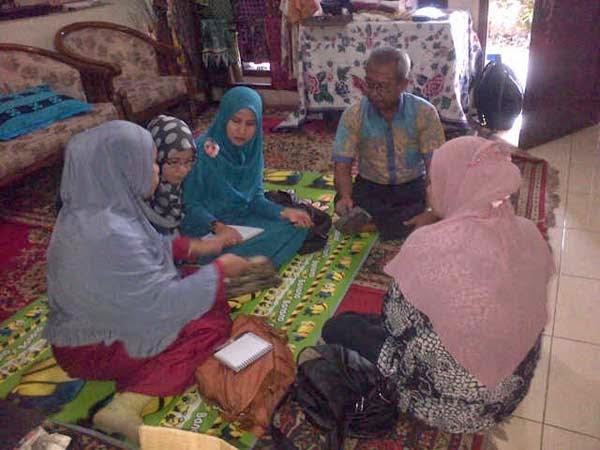 diskusi batik
