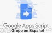 Google Apps Script, Grupo Comunidad de Facebook en Español