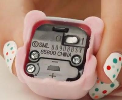 Какая батарейка в игрушке Lollipets