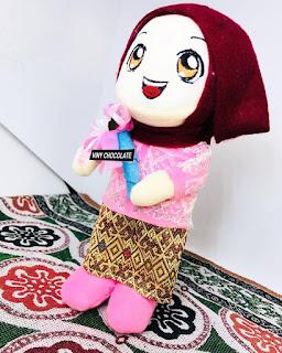 Boneka Maskot Wisuda