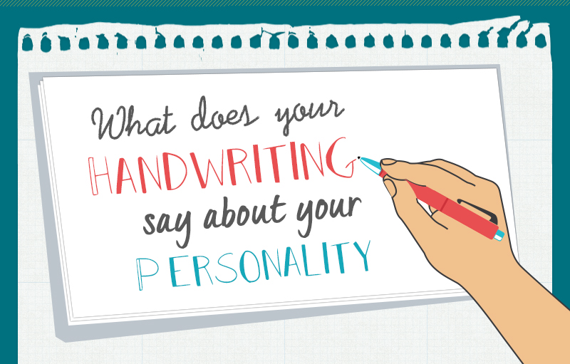 What Your Handwriting Says About Your Personality (infographic)