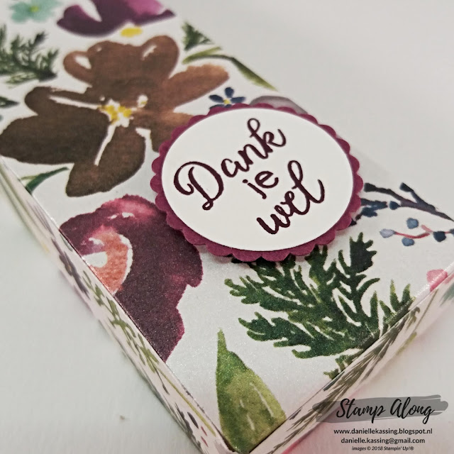 Stampin' Up! Frosted Floral Specialty Designer Series Paper