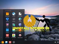 Cara Menghapus / Uninstall Phoenix OS