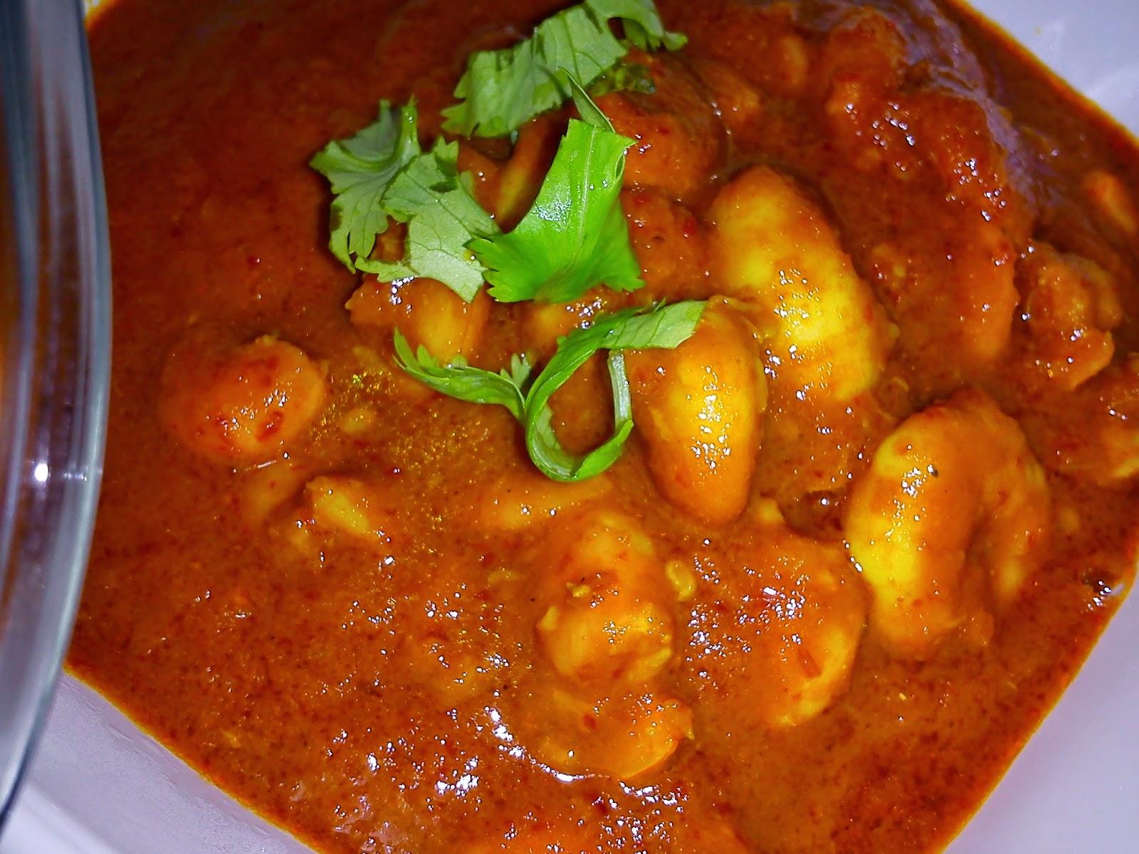 Cooking Pleasure: NYONYA SAMBAL UDANG [PRAWN SAMBAL]