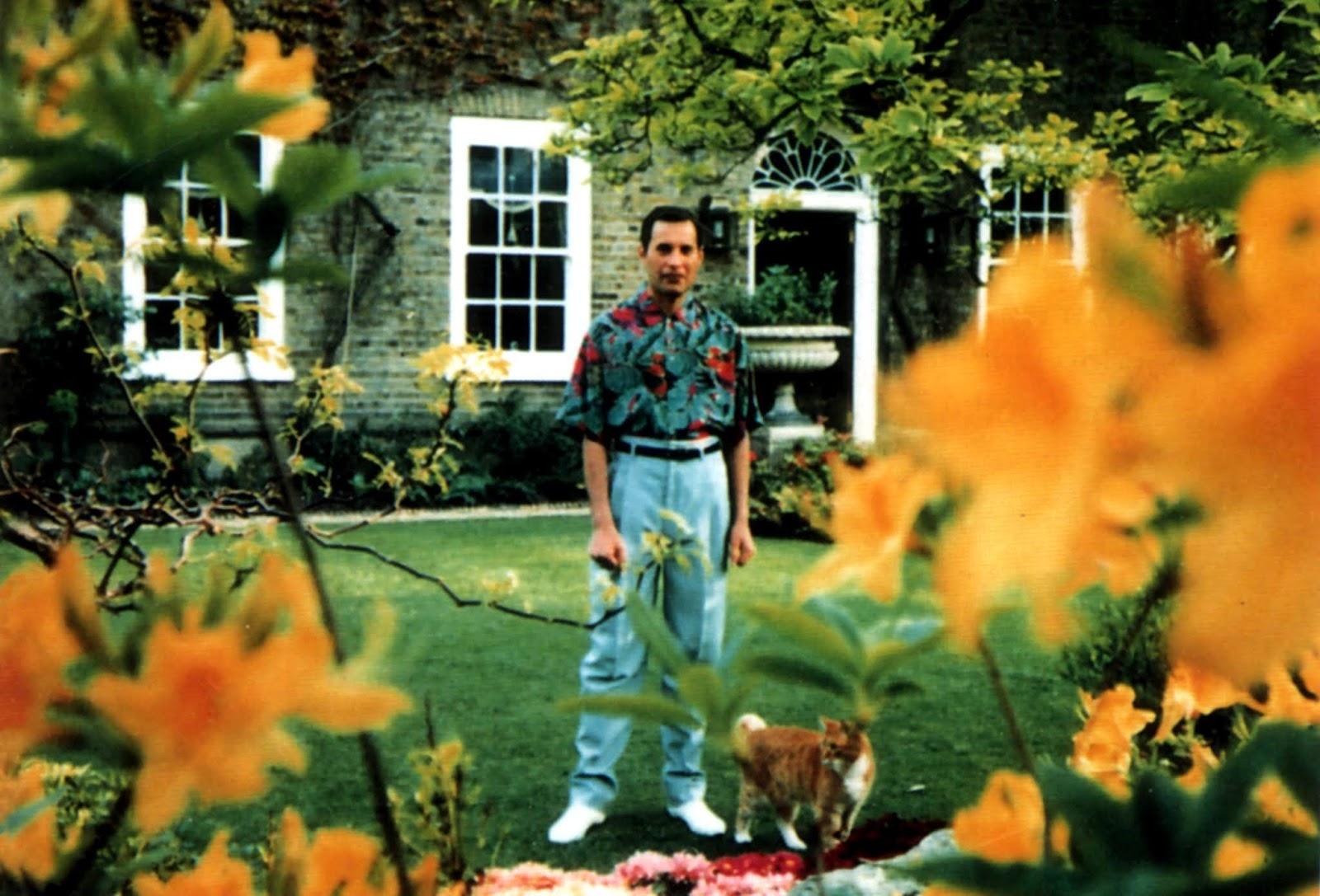 The Last Known Photos Of Freddie Mercury 1991 Vintage Everyday