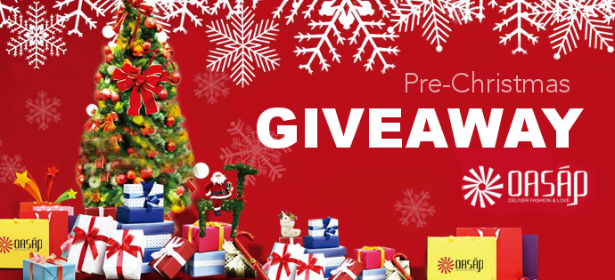 OASAP Pre-Christmas Coupon GIVEAWAY 2013, coupon
