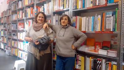 Lilo Acebal: «Cuando inauguramos la librería, no había ni libros ni estanterías. Estaba todo vacío»