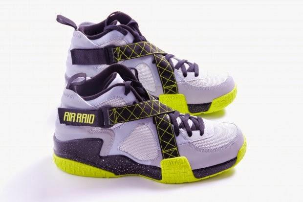 The Real Dwayne : Nike Air Raid Wolf GreyVenom Green