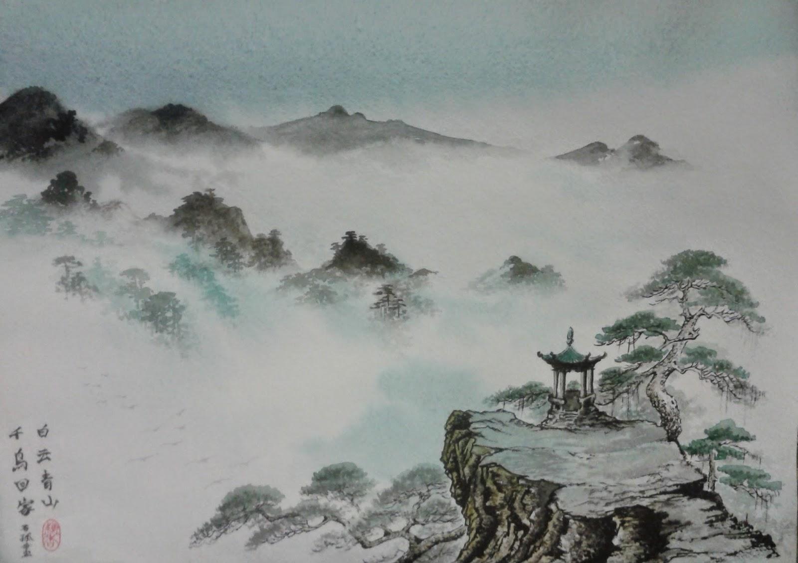 Китайская Живопись Картинки
