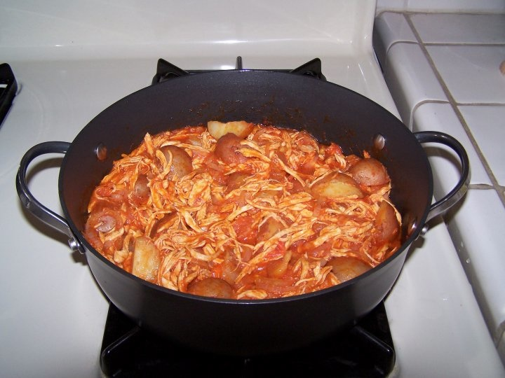 Jane Creative Corner Shredded Chicken In Tomato Sauce