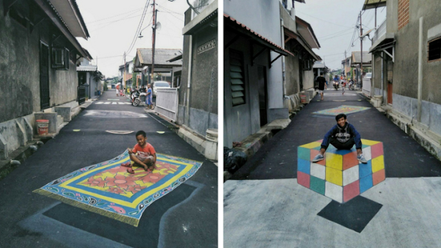 Kampung 3D di Depok