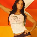 Andrea Rincon – Selena Spice – Sexy Top Blanco y Tanga Negra Foto 91