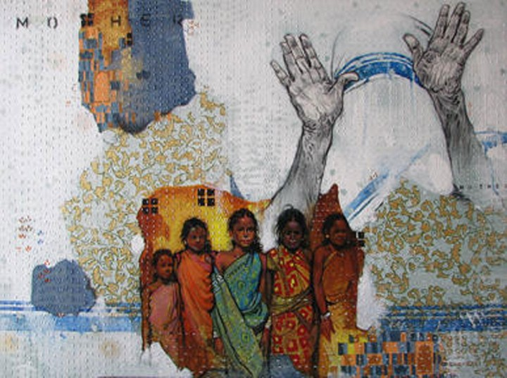 Ramchandra Kharatmal. Художник из Индии 3