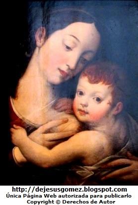 Imagen de la Virgen de la Leche o Virgen del Buen Reposo. Foto de la Virgen de la Leche tomada por Jesus Gómez