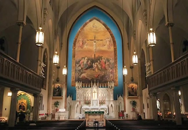 Catholic in Brooklyn: Holy Innocents and St  Francis Xavier