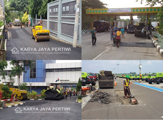 Jasa Pengaspalan Kontraktor Jalan Aspal Hotmix, Jakarta bogor depok bekasi tangerang bandung subang banten karawang jawa barat sekitarnya