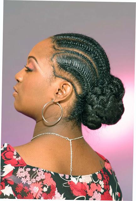 Fishtail African braids