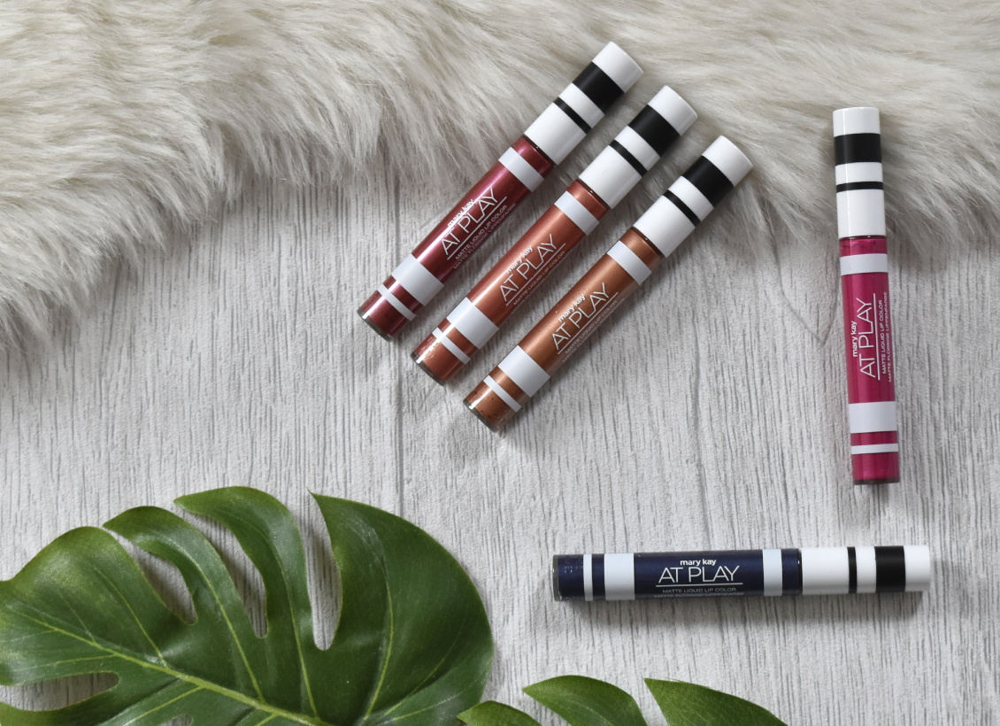 Mary Kay - At Play Matte Liquid Lip Colors - Review Liquid Lipsticks