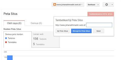 Cara Sitemap di webmaster google