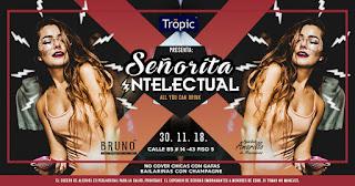 POS 1 FIESTA Señorita intelectual 2018 Bogotá