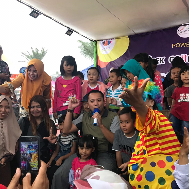 Ridho Yakini Festival Kuliner LWM Mampu Tingkatkan Perekonomian Warga