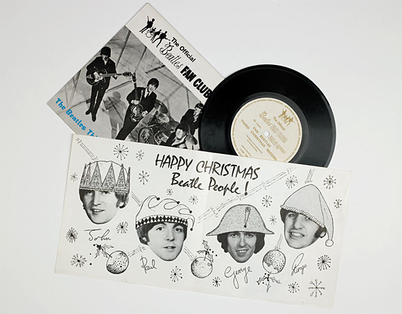 Les disques de Noël des Beatles
