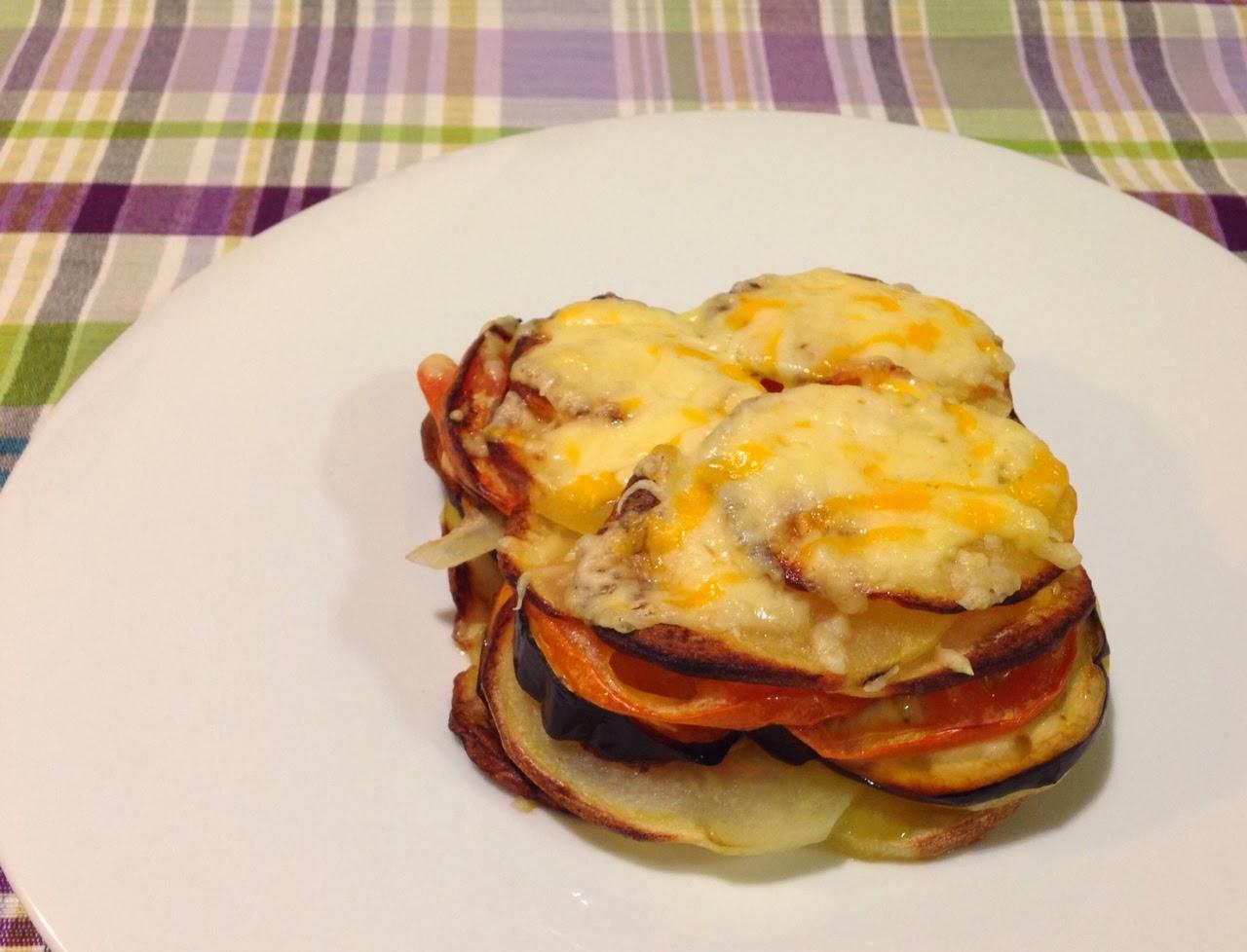 Cooking Diana Milhojas De Patata Tomate Y Berenjena