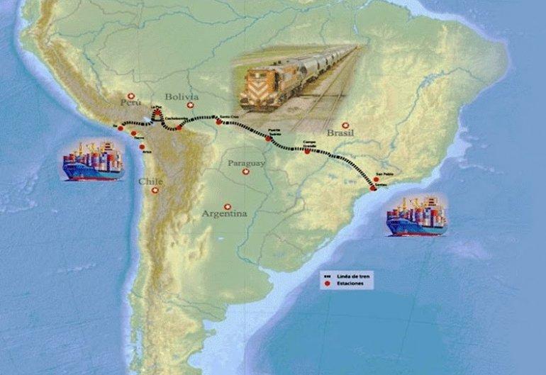 Resultado de imagen para DESTACAN IMPORTANCIA DE TREN BIOCEÁNICO PARA LA REGIÓN