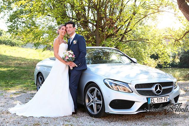 Photos de mariage à Charly