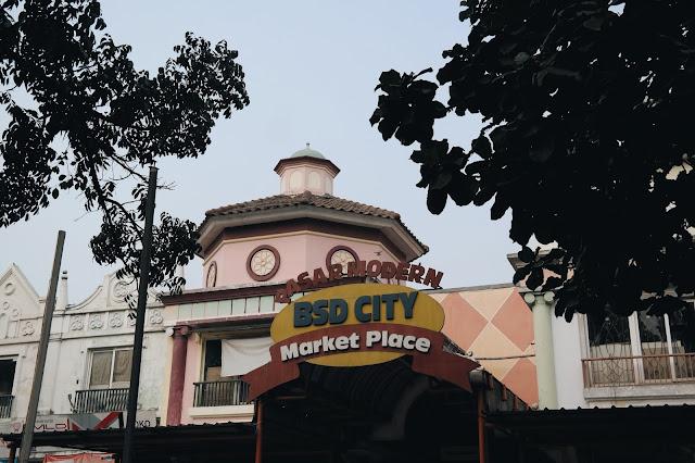 Satu Hari di Pasar Modern BSD, Bisa Makan Apa Saja?