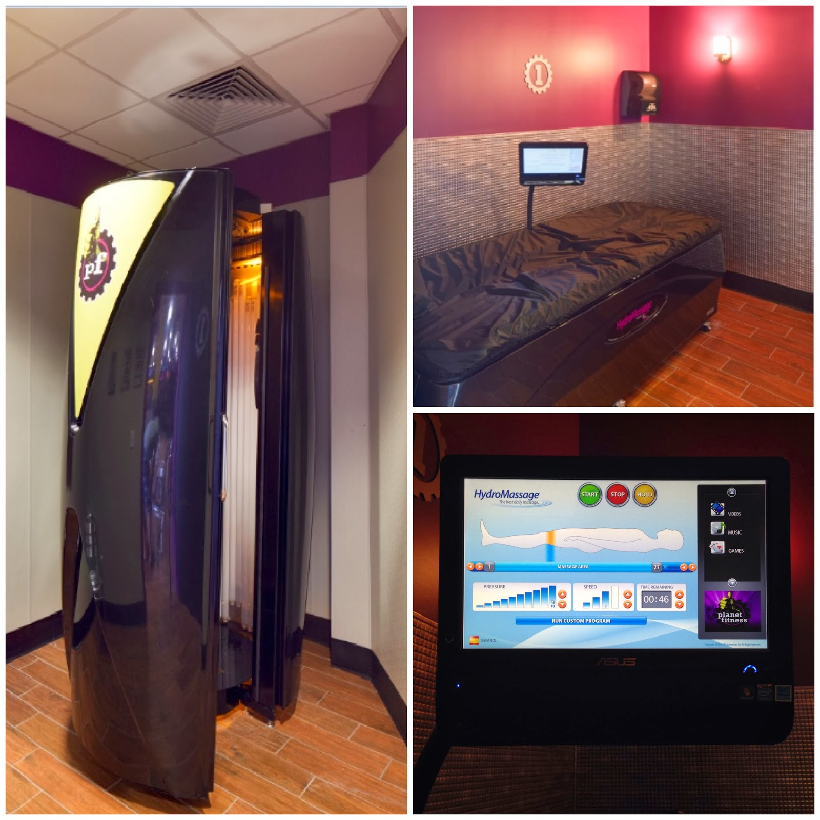 hydro massage chair dining room covers sydney young at heart mommy get fit planet fitness in south