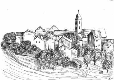 Description d'un village en français