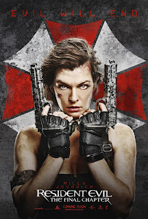 Resident Evil: The Final Chapter - Segundo Poster & Segundo Trailer